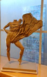 Bruce Wolfe-Samothrace, bronze 30