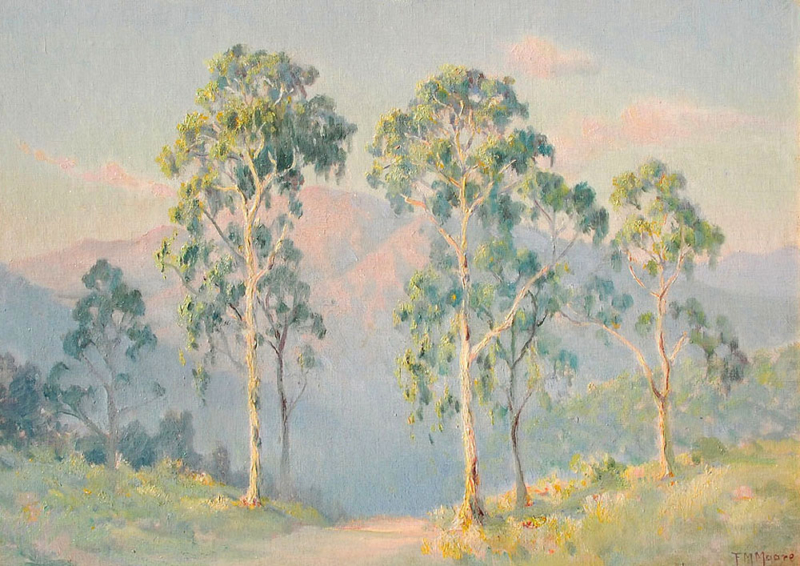 Frank-Montague-Moore-Eucalyptus-and-Sierra-Madres
