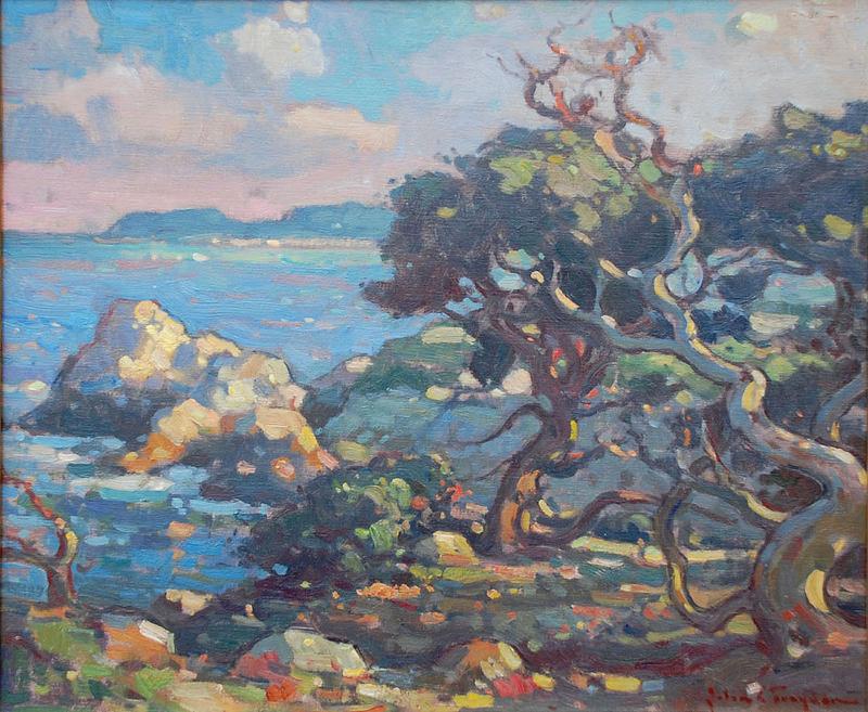 John Traynor-Cypress Trees, Point Lobos