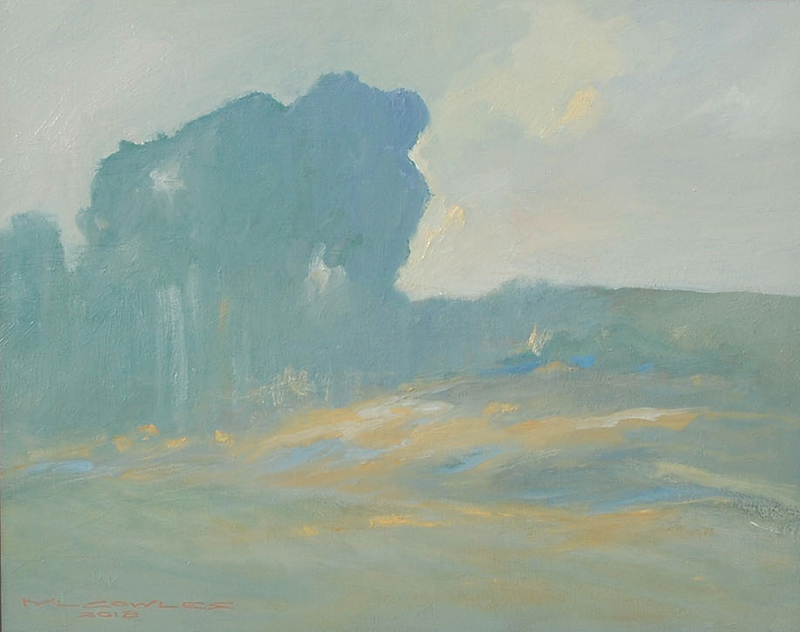 Michael Cowles-The Stand,oil on canvas 16_x20_