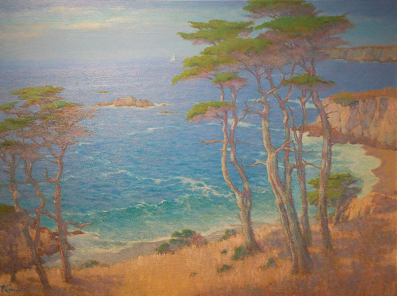 Ray Carpenter-California Currents, oil on canvas 30_x40_