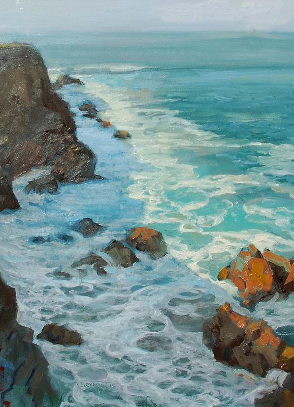 Sterling Hoffmann-November Wash oil on panel16_x12_