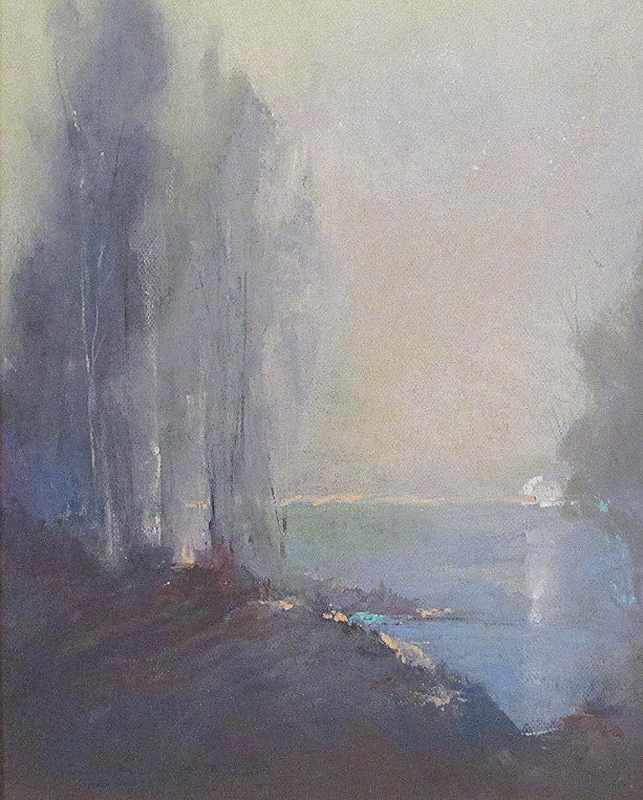 """Michael Cowles-A New Beginning, pastel 20""""x16"""""""